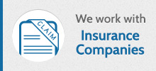 We work with Insurnace Companies